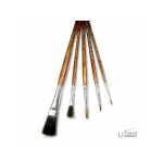 ROCOCO尼龍筆刷組BRUSHES hand crafted(121/5入)