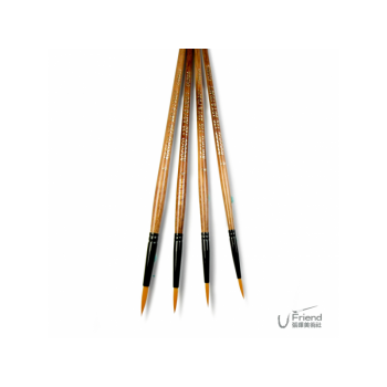 Rococo尼龍筆刷BRUSHES hand crafted(120/套組/4入)