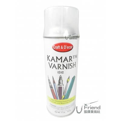KRYLON KRMAR VARNISH透明保護噴膠(1312/312ml)