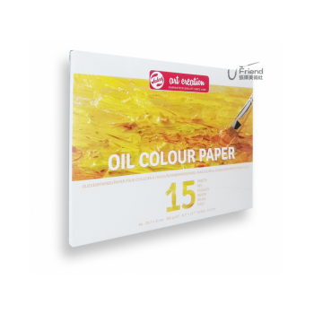 Talens泰倫斯Oil Color Paper油畫本(A4/300g/9315002M)