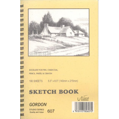 德國GORDON 607 SKETCH BOOK 彩色素描本