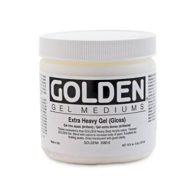 Golden高登Extra Heavy Gel Gloss壓克力增光特厚塗凝膠(237ml 3080-5/946ml 3080-7/3.78L 3080-8)