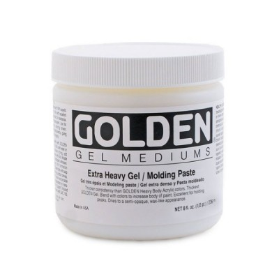 Golden高登Extra Heavy Molding Paste壓克力特厚塗凝塑形劑(237ml 3110-5/946ml 3110-7/3.78L 3110-8)