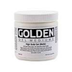 Golden高登High Solid Gel Matte壓克力消光高密度凝膠(237ml 3130-5/946ml 3130-7/3.78L 3130-8)