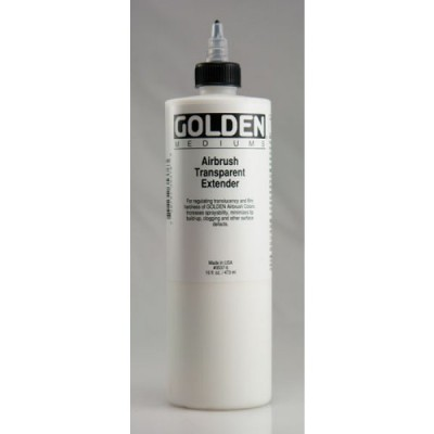 美國Golden AIRBRUSH TRANSPARENT EXTENDER 噴筆增量劑236ml