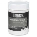 Liquitex白鱗片WHITE OPOQUE FLAKES(237ml)