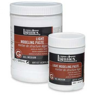Liquitex輕塑型土Light Modeling Paste237ml
