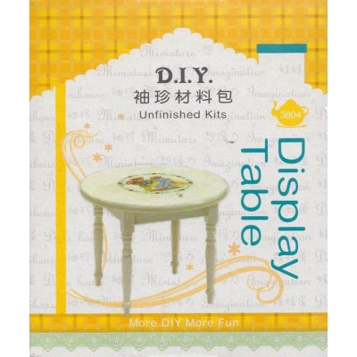 DIY 袖珍材料包 NO.3804 圓桌 Display Table