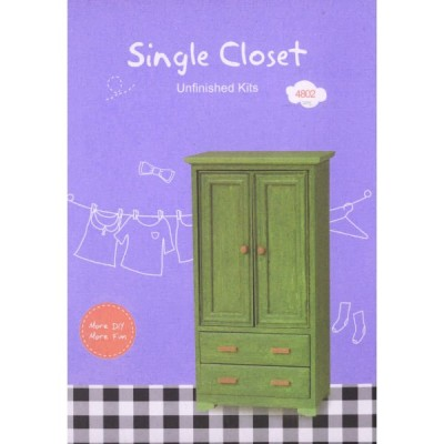 DIY單人衣櫃Single Closet(NO.4802)