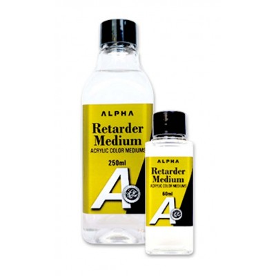 Alpha Retarder Medium壓克力緩乾劑(60mlB0510/250mlB0510-1)